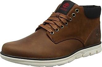 Timberland Keele Ridge Waterproof Leather, Bottes Homme, Marron (Medium Brown), 44 EU