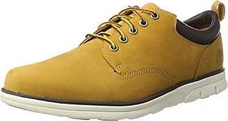 SODIAL (R) NUEVOS zapatos de gamuza de cuero de estilo europeo oxfords de los hombres casuales 999 Azul(tamano 44)