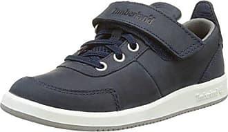 Timberland City Scamper, Zapatos de Cordones Oxford Unisex Niños, Azul (Black Iris Suede with Nebulas and Sulphur Spring 019), 33 EU