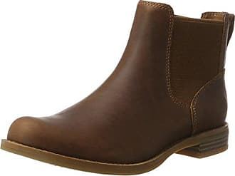 MT Hayes Fabric and Leather Waterproof, Botas para Mujer, Marrón (Mocha Bisque Fgmocha Bisque FG), 42 EU Timberland