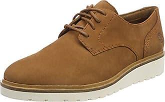 Timberland Ellis Street Lace-Up, Zapatos de Cordones Oxford para Mujer, Marrón (Saddle F13), 40 EU