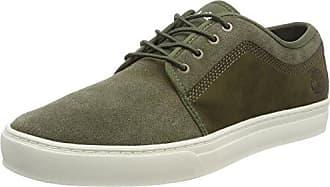 Timberland Retro Runner, Zapatos de Cordones Oxford para Hombre, Verde (Grape Leaf A58), 44 EU