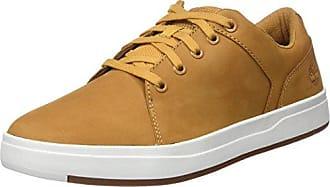 Timberland Dausette Leather Ox, Zapatos de Cordones Oxford para Mujer, Amarillo (Wheat Nubuck), 37 EU