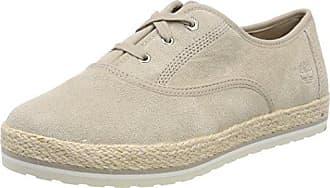 Timberland Elvissa Sea Leather, Zapatos de Cordones Oxford para Mujer, Marrón (Simply Taupe L47), 36 EU