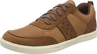 Timberland Newport Bay, Zapatos de Cordones Oxford para Hombre, Rojo (Red Canvas 626), 46 EU