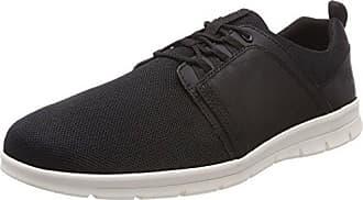 Timberland Davis Square, Zapatos de Cordones Oxford para Hombre, Negro (Black Nubuck 001), 46 EU