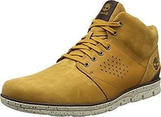 Timberland Flannery_Flannery_Flannery Chukka with C, Sneakers Basses Femme, Jaune (Wheat), 42 EU