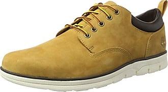 Timberland Dauset, Zapatos de Cordones Oxford para Hombre, Amarillo (Wheat Suede 231), 46 EU