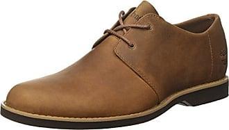 Timberland Fulk, Zapatos de Cordones Oxford para Hombre, Azul (Black Iris Saddleback 019), 41.5 EU