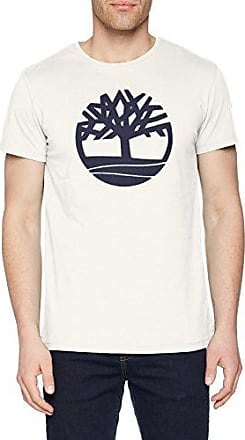 Kennebec River, Camiseta para Hombre, Blanco (White Sea L52), Small Timberland
