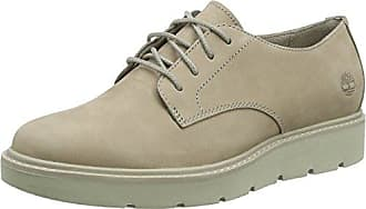 Marc O'Polo Lace Up Shoe 80114453401102, Zapatos de Cordones Oxford para Mujer, Gris (Taupe), 36 EU