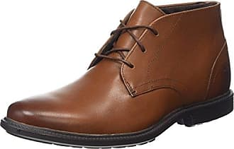 Larchmont Pull-On, Botas Chelsea para Hombre, Marrón-Braun (Oakwood FG with Suede), 50 EU Timberland