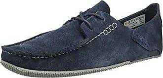 Timberland Brook Park Light, Zapatos de Cordones Oxford para Hombre, Azul (Midnight Navy Hammer II 431), 44 EU