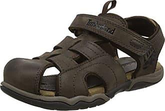 Sandalen für Junge und Mädchen C2171A OAKBLFSEKLTHRFSH Dark Brown Schuhgröße 34 Timberland