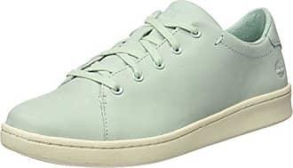 Timberland Mayport, Zapatos de Cordones Oxford para Mujer, Azul (Stone Blue Canvas with Natural Tan E42), 37 EU