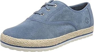 Elvissa Sea Canvas, Zapatillas sin Cordones para Mujer, Azul (Denim 484), 40 EU Timberland