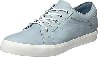Timberland Mayport, Zapatillas sin Cordones para Mujer, Azul (Stone Blue Canvas with Natural Tan E42), 37.5 EU