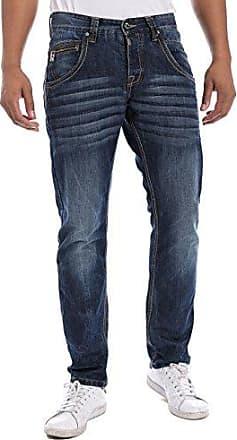 Jean - Coupe Droite - Homme - Bleu (Authentik Dark Blue 3562) - FR : 33W/34L (Taille fabricant : 33/34)Timezone