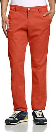 Pantalon - Skinny/Slim - Homme - Rouge (Burnt Red 5032) - FR : 32W/32L (Taille fabricant : 32/32)Timezone