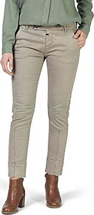 Slim Secil Chino, Pantalon Femme, Beige (Light Moonstone 2003), W32Timezone