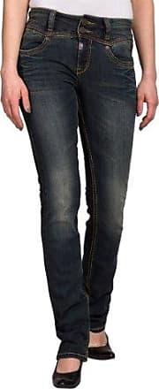 Rivatz 9188 Black Soft Wash, Jeans Femme, Nero (black soft wash 9188), 33 W/32 LTimezone