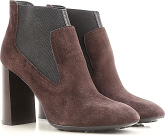 Boots for Women, Booties On Sale, Mud, suede, 2017, 2.5 3.5 4 4.5 5.5 6 7.5 Hogan