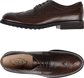 Lace Up Shoes for Men Oxfords, Derbies and Brogues On Sale, Ash, Suede leather, 2017, 7 8 Tod's