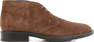 Boots for Women, Booties On Sale, Dark Brown, Suede leather, 2017, 3.5 5.5 6 7.5 Tod's