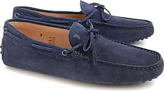Loafers for Men On Sale, galaxy blue, Leather, 2017, 10 6 Tod's