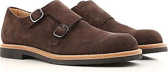Zapatos Calados Brogue Baratos en Rebajas Outlet, Marrón Oscuro, Gamuza, 2017, 39.5 Tod's