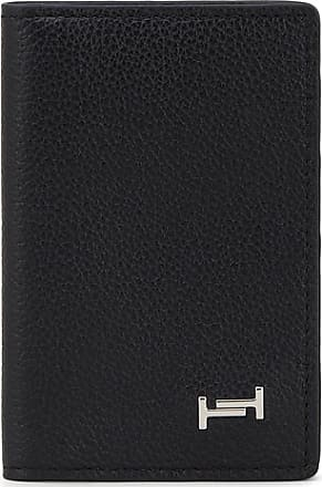 Tod's Pebble-grain Leather Cardholder