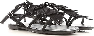 Sandals for Women On Sale, ribes, Suede leather, 2017, 3.5 4 4.5 6 7.5 Tod's