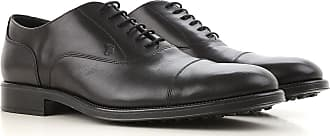 Lace Up Shoes for Men Oxfords, Derbies and Brogues On Sale, Dark Ebony, Leather, 2017, 10 6 7.5 Tod's