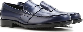 Loafers for Men On Sale, Baltic Blue, Leather, 2017, 8 8.5 Tod's