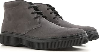 Boots for Men, Booties On Sale, Anthracite Grey, suede, 2017, 10 11 12 6 6.5 7 7.5 8 9.5 Tod's