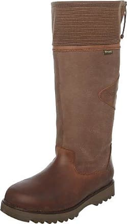 Como Weite H 2-306222-22000, Bottes femme - Marron-TR-DK, FR:39 (Taille fabricant: 5.5)Hassia