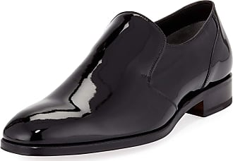 Wessex Burnished-leather Penny Loafers - BrownTom Ford