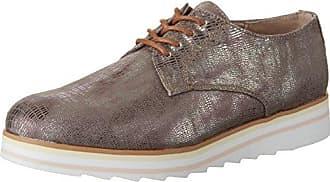 Goldmud Kosju, Zapatos de Cordones Derby para Mujer, Beige (Saturina Camel), 40 EU