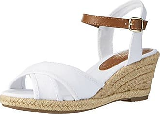 Segnavia, Sandales Compensées Femme - Blanc - Bianco, 38 EU EUPennyblack