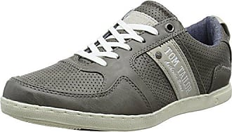 485100130, Baskets Homme, Gris (Grey 00011), 44 EUTom Tailor