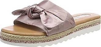 TOM TAILOR Damen 4896212 Pantoletten, Pink (Old Rose), 42 EU