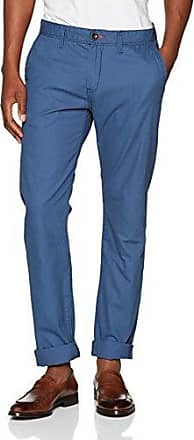 64048920010, Pantalones para Hombre, Azul (Black Iris Blue 6740), W31/L32 Tom Tailor