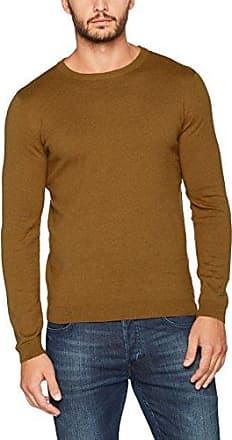 Coasy Cashmere Blend Jacket, Suéter para Hombre, Verde (Shadow Green Melange 7825), Medium Tom Tailor