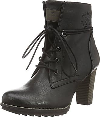 TOM TAILOR Damen 3797302 Stiefel, Schwarz (Black), 38 EU