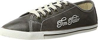 TOM Tailor 485200330, Zapatillas para Mujer, Gris (Grey 00011), 37 EU