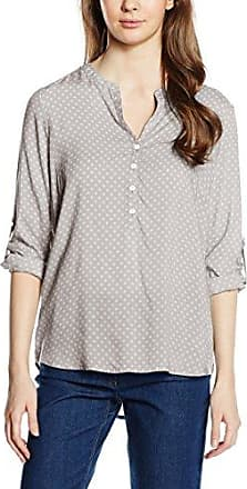 Tom Tailor Trendy Check Blouse, Blusa para Mujer, Gris (Coal Grey 2718), 38