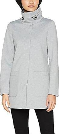 Tom Tailor Denim Fluent Utility Coat, Abrigo para Mujer, Verde (Tarmac Khaki 7579), 36 (Talla del Fabricante: Small)