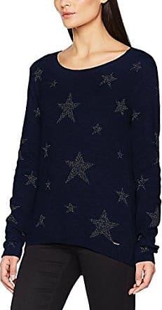 Tom Tailor Fine Basic Sweater, Suéter para Mujer, Morado (Preppy Plum 4268), 36 (Talla del fabricante: Small)