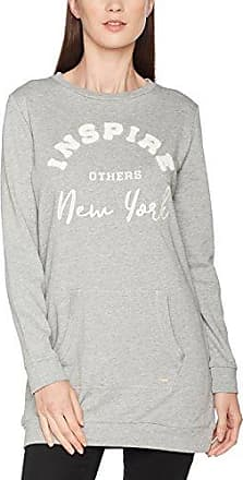 Tom Tailor Denim Minimal Star Sweater W/Hood, Capucha para Mujer, Rosa (Evening Rose 4676), 34 (Talla del fabricante: X-Small)