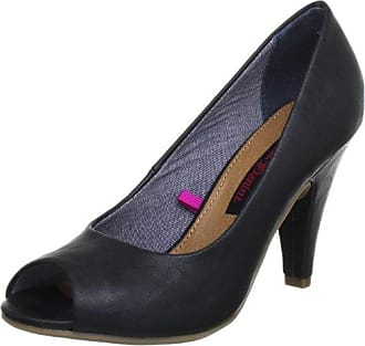 Tom Tailor Damen 4892302 Pumps, Blau (navy), 37 Eu